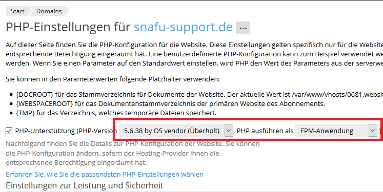snafu-wiki_PleskPHP5.6aufPHP7.2ändern2