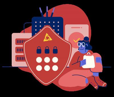 snafu Network Security illustration